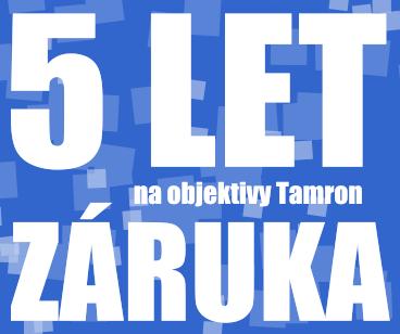 5letá záruka Tamron